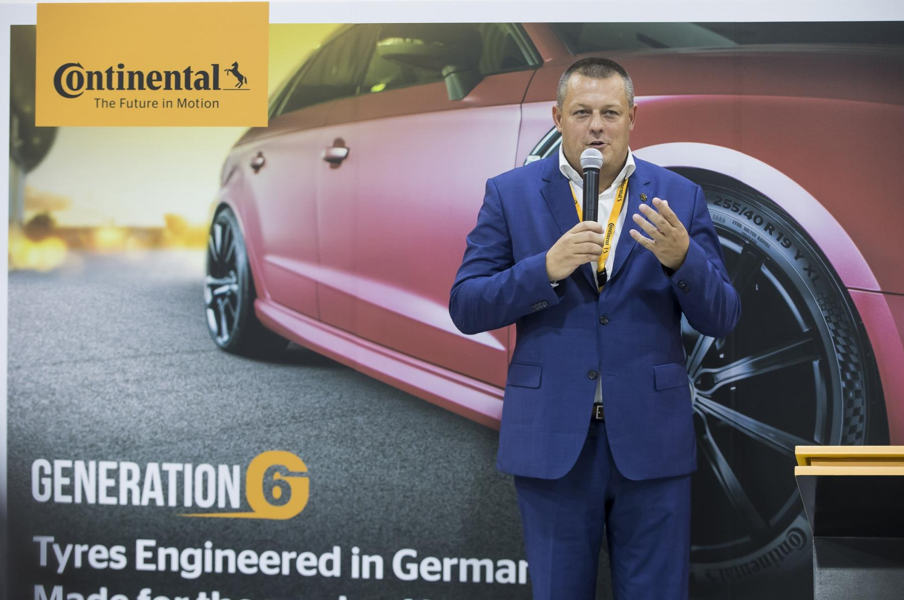 Karel Kucera, Managing Director of Continental Middle East