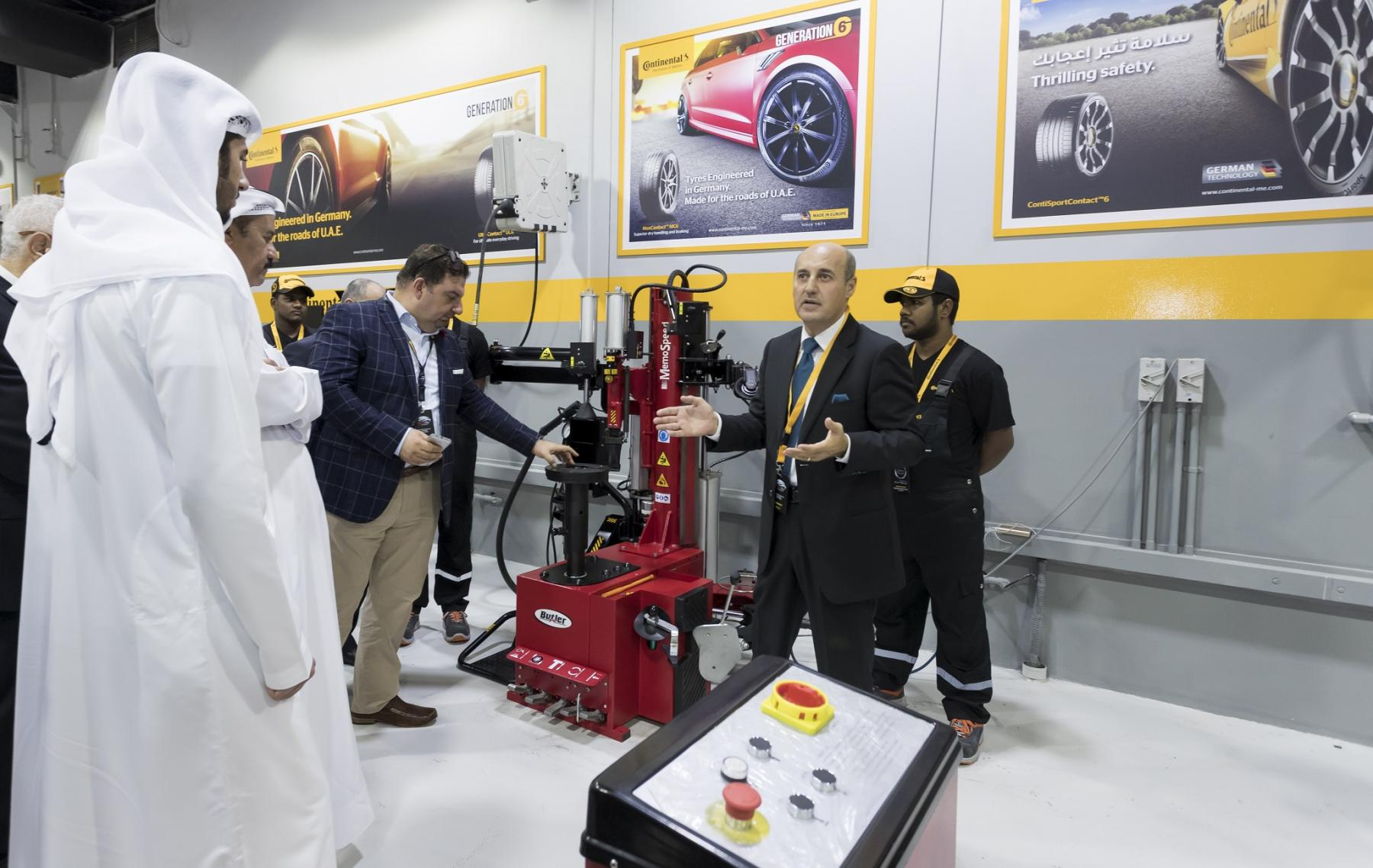 Royal Step Car Services opens largest Continental store in the ME